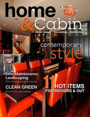 Home and Cabin Magazine Cover