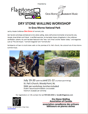 Dry Stone Walling poster